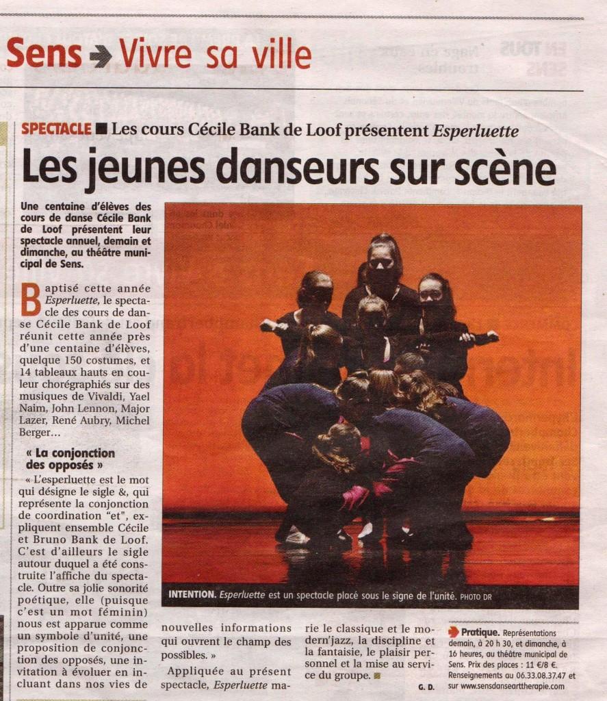 Yonne Républicaine, le 3 juin 2016