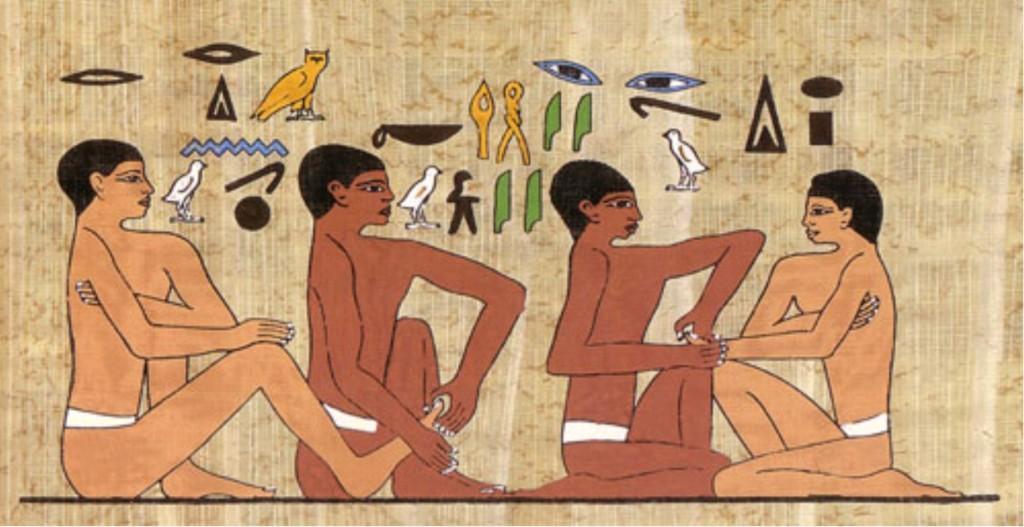 sarcophage d'Ankhmahor, (datant de 2330 av. J.C)